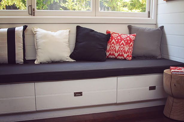 Diy Project Bench Seat Cushion Sewthispattern By Nine