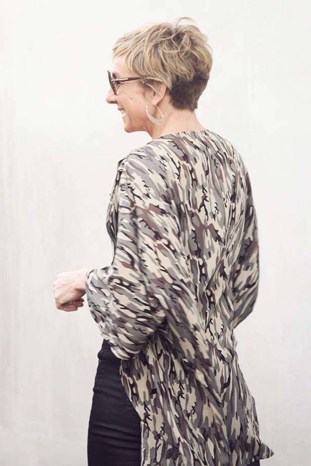 Kimono pdf sewing pattern