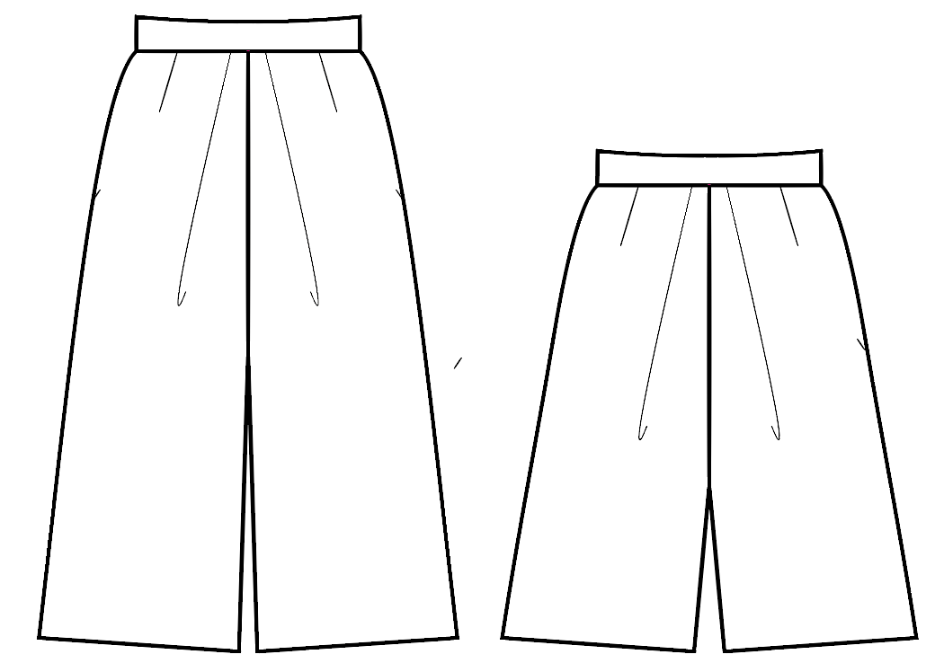 Velo Culotte sewing pattern download