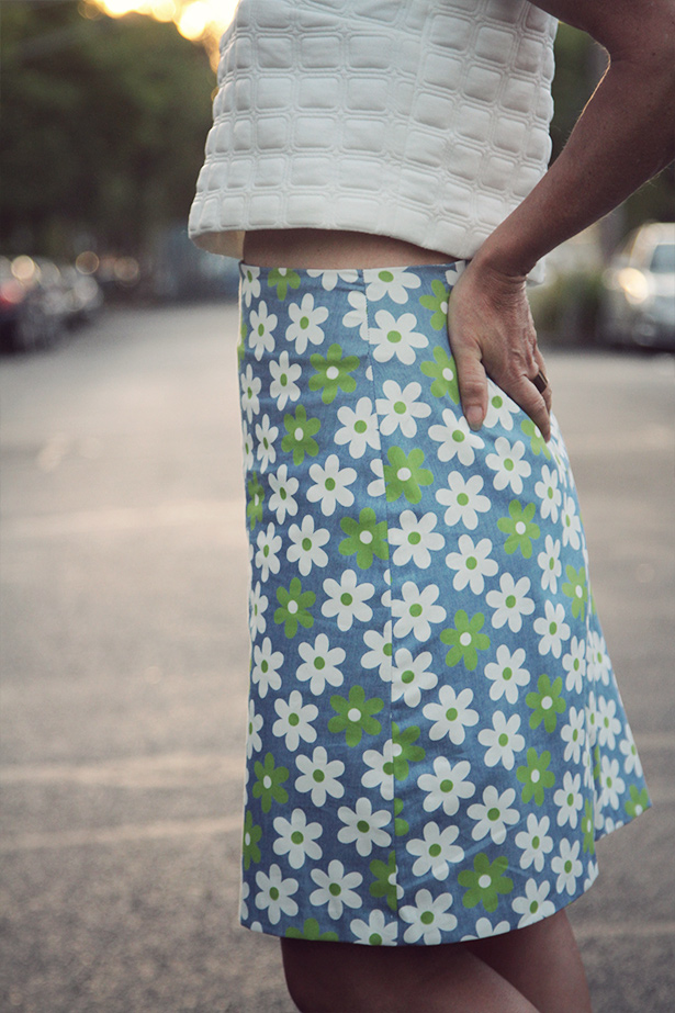 a line skirt sewthispattern by nine stitches