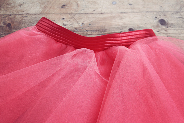 make tulle skirt