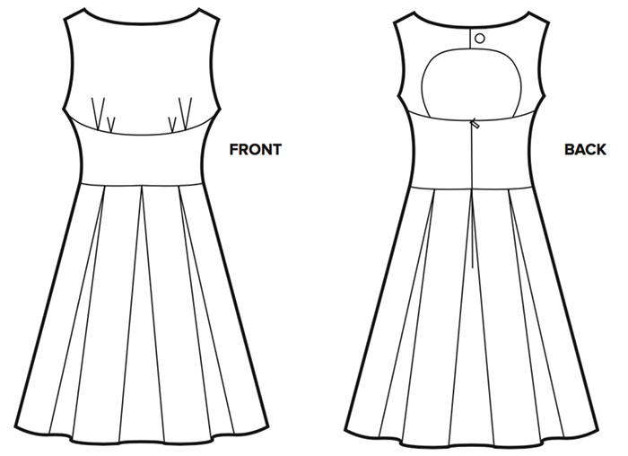 Daphne Day Dress DIY sewing pattern