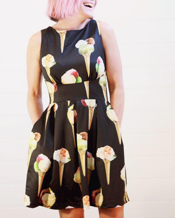 Daphne Day Dress Full Back