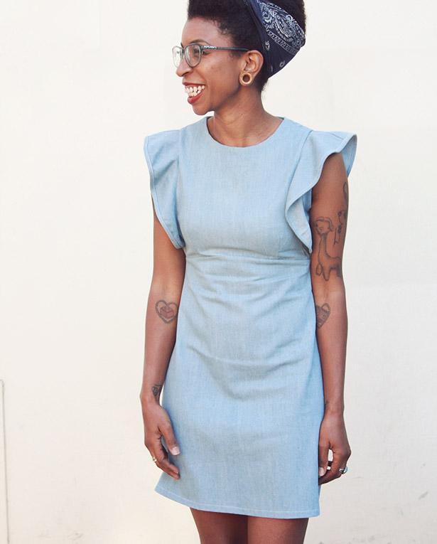 Sienna Shift Dress Sewthispattern By Nine Stitches Custom Shift Dress Pattern