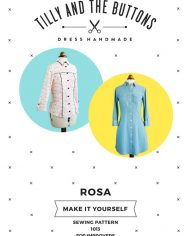 Rose-shirt-dress-sewing-pattern—cover