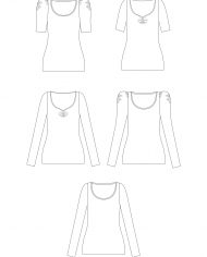Agnes-sewing-pattern-technical-drawing